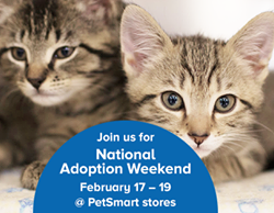 Adoptathon Weekend February 18th and 19th!