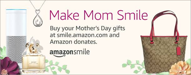 Buy your Mother's Day gifts at smile.amazon.com and Amazon donates to HHAS