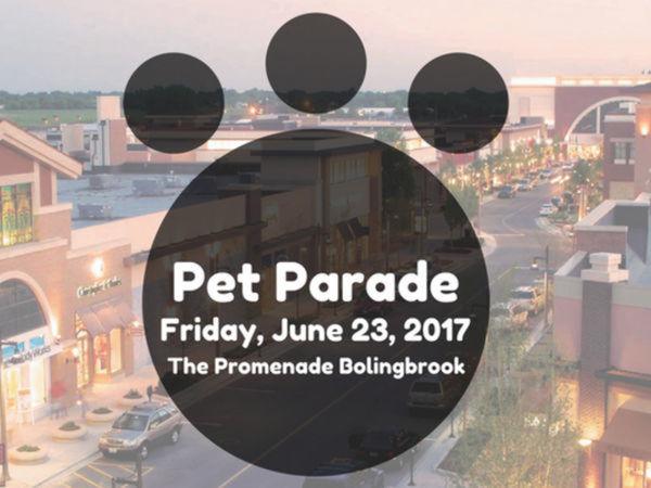 "HHAS in the ""furst-ever"" Bolingbrook Pet Parade!"