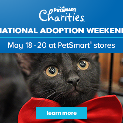 Adoptathon Weekend May 18th, 19th and 20th!
