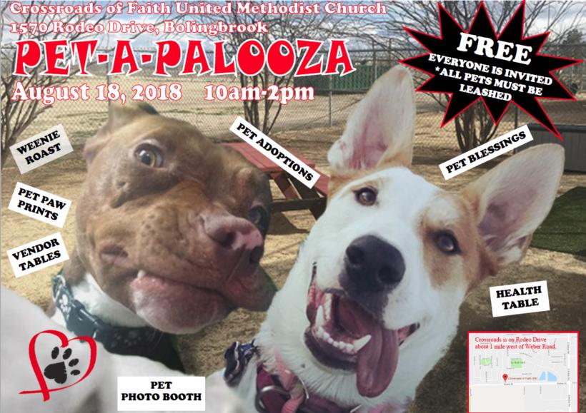 Reminder: HHAS at Pet-A-Palooza this Saturday, August 18th!
