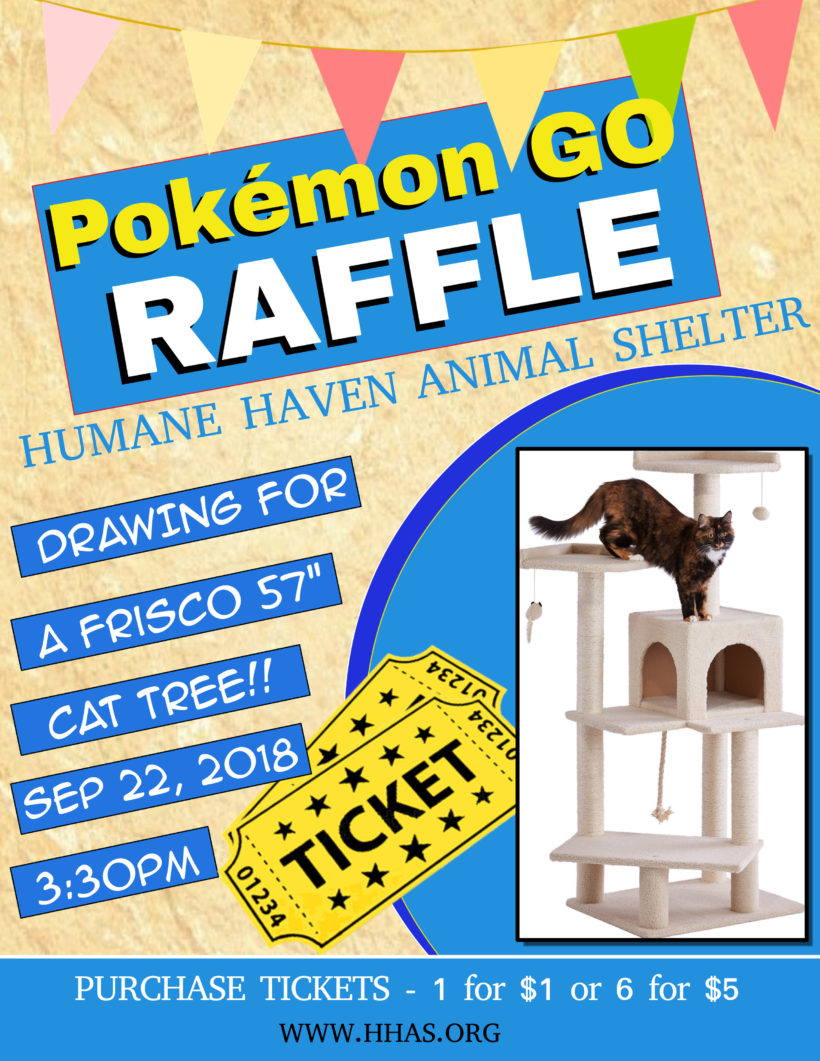 Announcing our Raffle Prize for tomorrow's Pokemon GO Community Day!