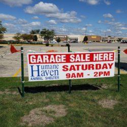 The Garage Sale is Tomorrow!