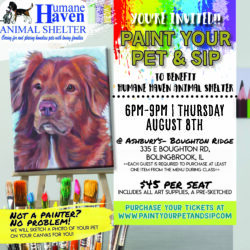 Paint Your Pet & Sip Was A Masterpiece!